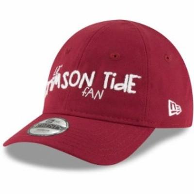 New Era ニュー エラ スポーツ用品  New Era Alabama Crimson Tide Toddler Crimson Lil Cutie 9TWENTY Adjustable Hat