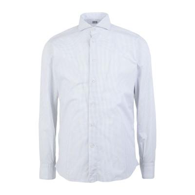 FRADI シャツ ホワイト 42 コットン 100% シャツ
