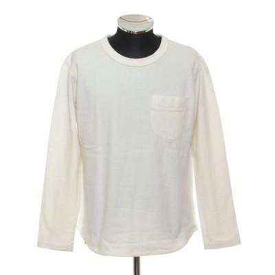 Panafic パナフィック ポケットロンT サイズL コットン 日本製 肉厚 メンズ ホワイト