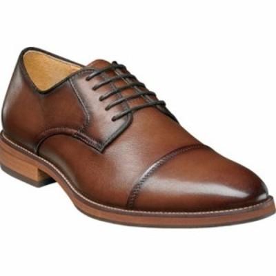 フローシャイム 革靴・ビジネスシューズ Blaze Cap Toe Derby Cognac Leather