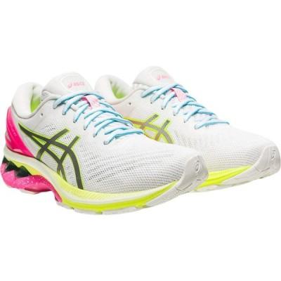 アシックス ASICS レディース ランニング・ウォーキング シューズ・靴 GEL-Kayano 27 Lite-Show White/Pure Silver