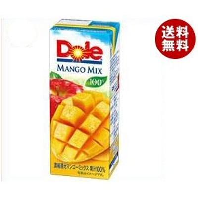 Dole(ドール) マンゴーミックス 100% 200ml紙パック*18本入