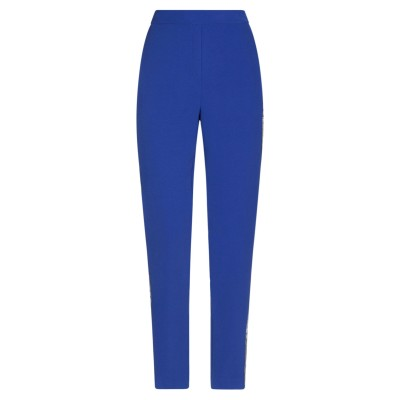 BIANCOGHIACCIO パンツ ブルー 42 ポリエステル 100% パンツ