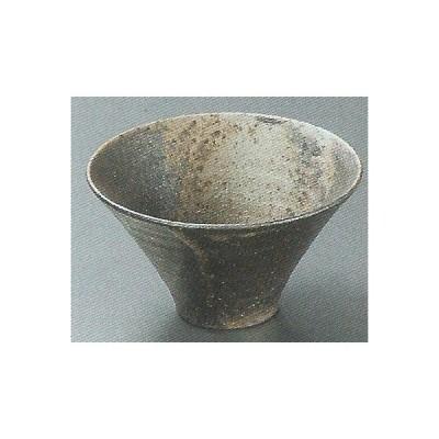 和食器/料理 窯変そり小鉢(信楽焼) (12.4×7cm 重さ170g)