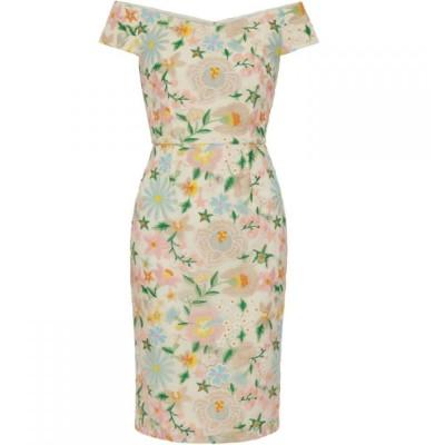 ジーナ バッコーニ Gina Bacconi レディース ワンピース ワンピース・ドレス Mayla Embroidered Dress Multi-Coloured