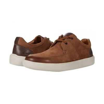 Clarks クラークス メンズ 男性用 シューズ 靴 スニーカー 運動靴 Cambro Lace - Tan Nubuck