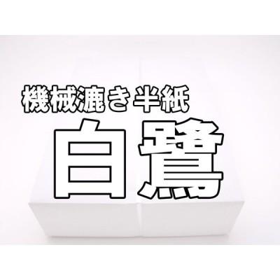 「白鷺」機械漉き半紙 1パック100枚入り  これから書道始めるお客様へ!!