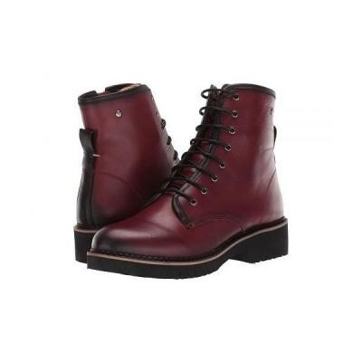 Pikolinos レディース 女性用 シューズ 靴 ブーツ レースアップ 編み上げ Vicar W0V-8986C1 - Arcilla