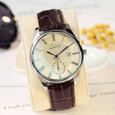 お取り寄せ商品 ネコポス送料無料 レディース 腕時計 メンズ 日付表示 ペア お揃い クオーツ式 PUベルト New Style Watch シンプル おしゃれ レディースウォッチ 誕生日 プレゼント