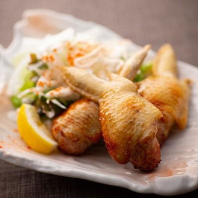 【特選】手羽餃子5本(1P約300〜330g)・国産銘柄鶏使用