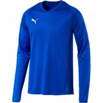 トレーニングシャツ メンズ 長袖シャツ メンズ カットソー メンズ LIGA ゲームシャツ コア 02ELECTRIC B (JSP)(QCB02)