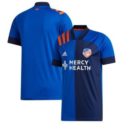 アディダス ユニフォーム トップス メンズ FC Cincinnati adidas 2020 Bold Replica Jersey Blue