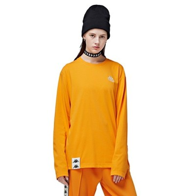 Kappa Bandaコレクション カッパ バンダ メンズ レデイース ユニセックス  K08Y2TC61M:長袖 Tシャツ ロンT スポーツ ストリート 秋冬