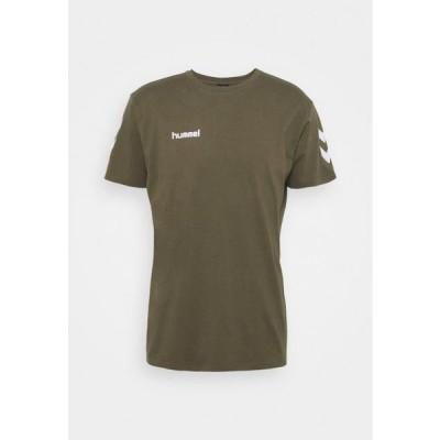 ヒュンメル メンズ スポーツ用品 Print T-shirt - grape leaf
