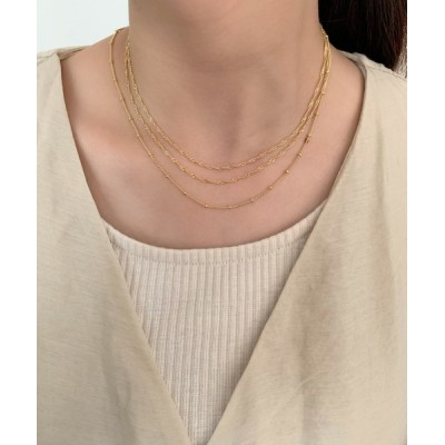 wears / シンプルチェーンネックレス 2個セット WOMEN アクセサリー > ネックレス