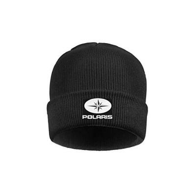 レディース メンズ ビーニー帽 ポラリス オートバイ スリングショット ダートバイク クラシックウォッチキャップ US サイズ: One Size