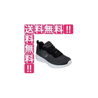 スケッチャーズ SKECHERS DYNAMIGHT 2.0-QUICK CONCEPT レディース [サイズ:23.5cm] [カラー:ブラック×グレーニットメッシュ] #12966-BKW