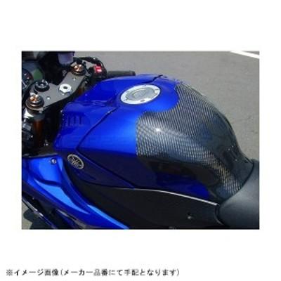 CLEVERWOLF クレバーウルフ:タンクプロテクター カーボン/平織 YZF-R6 17