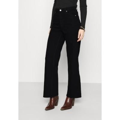 キャリン ウェスター レディース デニムパンツ ボトムス CINDY - Flared Jeans - black black
