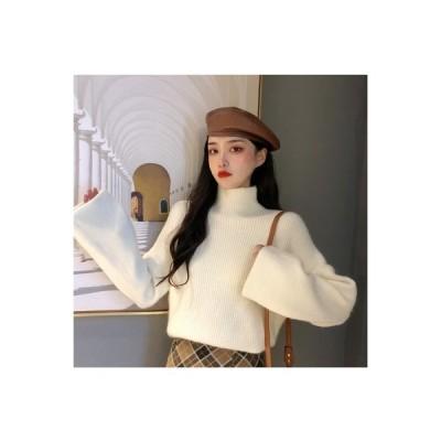 【送料無料】年 韓国風 冬 手厚い セーター ルース 若くなる ハイネック レジャー | 364331_A64280-9824104