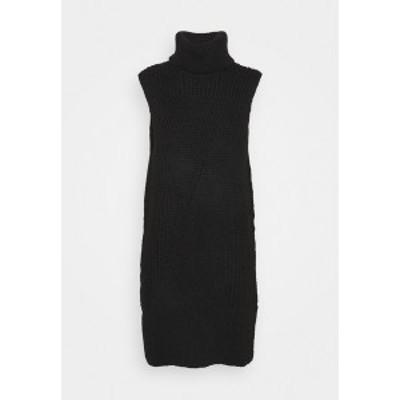 ヤス レディース ワンピース トップス Jumper dress - black black