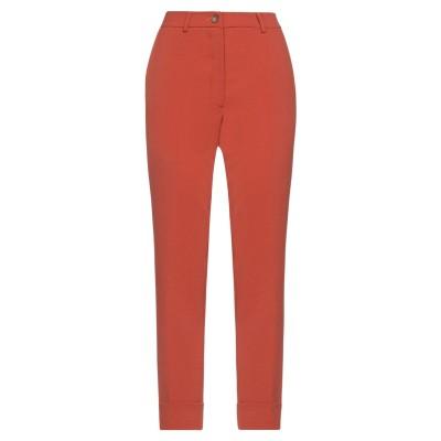 GIGUE パンツ 赤茶色 36 ポリエステル 100% パンツ