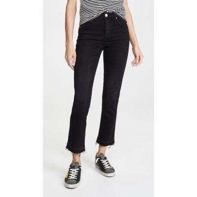 アモ AMO レディース ジーンズ・デニム スキニー・スリム ボトムス・パンツ Babe High Rise Slim Fit Jeans Black Magic