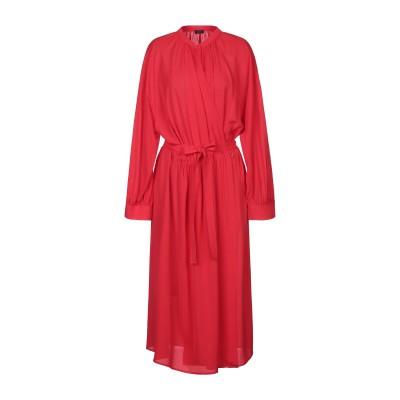 ジョゼフ JOSEPH 7分丈ワンピース・ドレス レッド 40 シルク 100% 7分丈ワンピース・ドレス