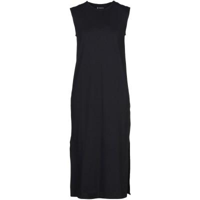 オスクレン OSKLEN 7分丈ワンピース・ドレス ダークブルー M コットン 100% 7分丈ワンピース・ドレス