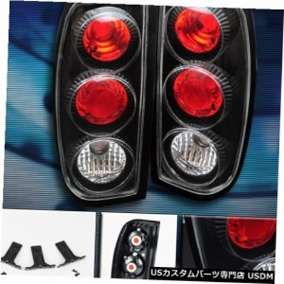 TAIL BRAKE LIGHTS REAR LAMPS JDM BLACK for 98-04 FRONTIER 99 00 01 02 03 PICKUP