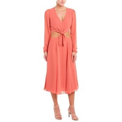 ユミキム レディース ワンピース トップス YUMI KIM Midi Dress saffron