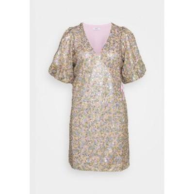 エンヴィ レディース ワンピース トップス ENBEAUTY DRESS - Cocktail dress / Party dress - multi-coloured multi-coloured