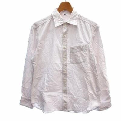 【中古】フォーティーファイブアールピーエム  45R 45rpm シャツ 長袖 2 ピンク /AU メンズ