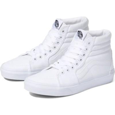 ヴァンズ Vans レディース スニーカー シューズ・靴 classic sk8-hi shoes True White
