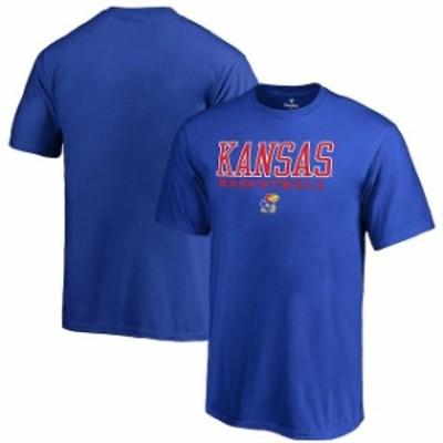 Fanatics Branded ファナティクス ブランド スポーツ用品  Fanatics Branded Kansas Jayhawks Youth Royal True Sport Basketball T-Shir