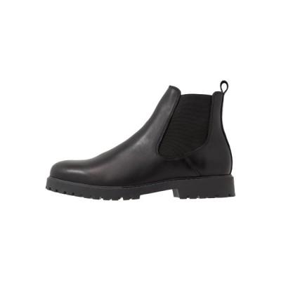 ジン ブーツ&レインブーツ メンズ シューズ Classic ankle boots - black