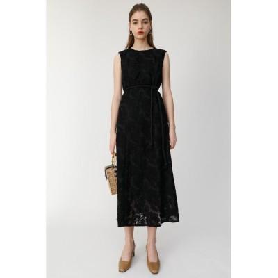 【マウジー】 LACE SLEEVELESS ドレス レディース ブラック 2 MOUSSY