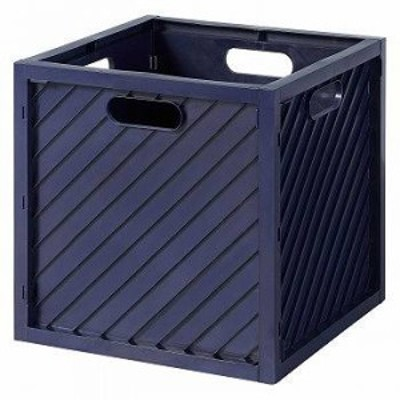491621 収納ボックス ハコボライト ストレージボックス NAVY 【送料無料】(キャビネット、収納ボックス、容器、バスケット、カゴ)