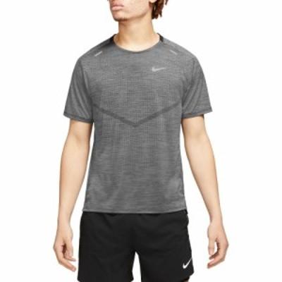 ナイキ Nike メンズ ランニング・ウォーキング ドライフィット トップス Dri-FIT ADV Techknit Ultra Running Top Black/Iron Grey