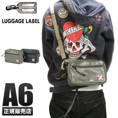 吉田カバン ラゲッジレーベル ライナー ショルダーバッグ メンズ レディース 赤バッテン A6 LUGGAGE LABEL 951-09270