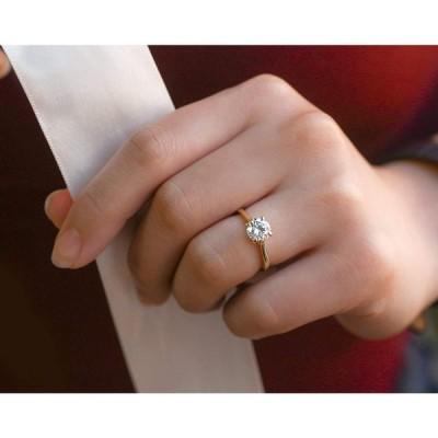 Kobelli 1ct Round Diamond Solitaire Ring - rose-gold / 6.0