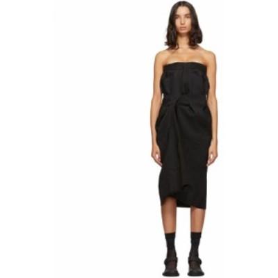 メゾン マルジェラ Maison Margiela レディース ワンピース ワンピース・ドレス black cavalry twill dress
