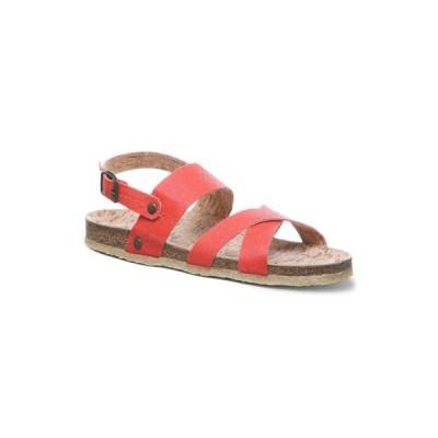 ベアパウ BEARPAW レディース サンダル・ミュール フラット シューズ・靴 Kala Vegan Flat Sandals Paprika