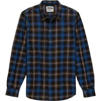 マウンテンカーキス Mountain Khakis メンズ シャツ ネルシャツ トップス Saloon Flannel Shirt Black Plaid