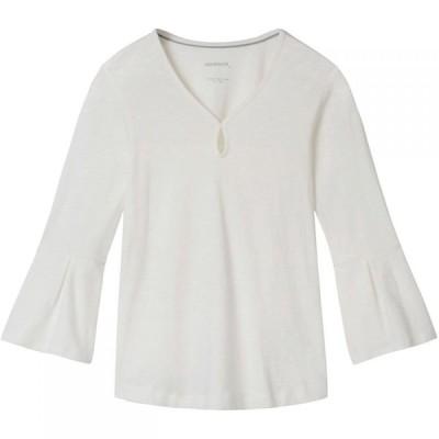 サンドイッチ Sandwich レディース トップス Bell Sleeve Jersey Top White