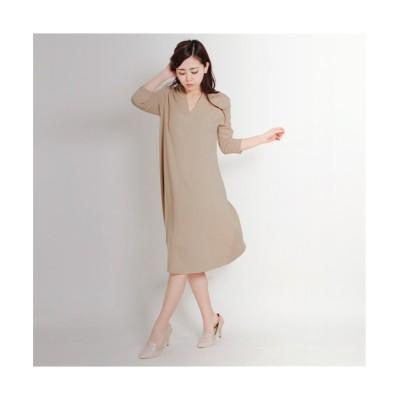 MARTHA(マーサ) Vネックフレアワンピース (ワンピース)Dress