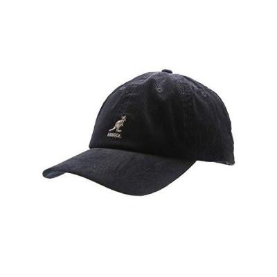 [カンゴール] Cord Baseball コード ベースボール キャップ 帽子 コーデュロイ : フリーサイズ ブラック:[NOA]