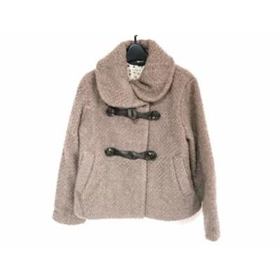 ツモリチサト TSUMORI CHISATO コート サイズ2 M レディース ブラウン 冬物【中古】20190907