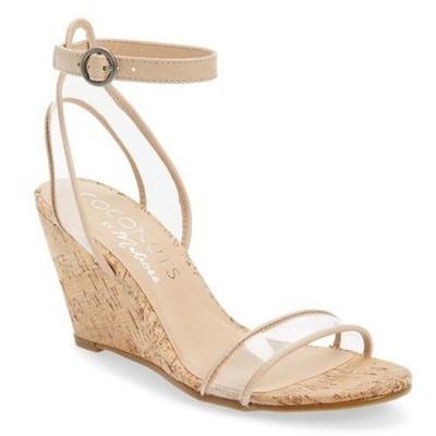 ココナッツバイマッテシィ サンダル シューズ レディース Visions Wedge Sandal Natural Faux Leather