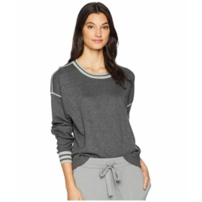 Michael Stars マイケルスターズ 服 一般 Luxe Cotton Blend Reversible Crew Neck Pullover